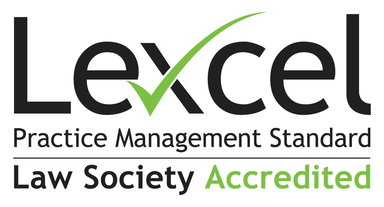 Lexcel Accredited CMYK Logo