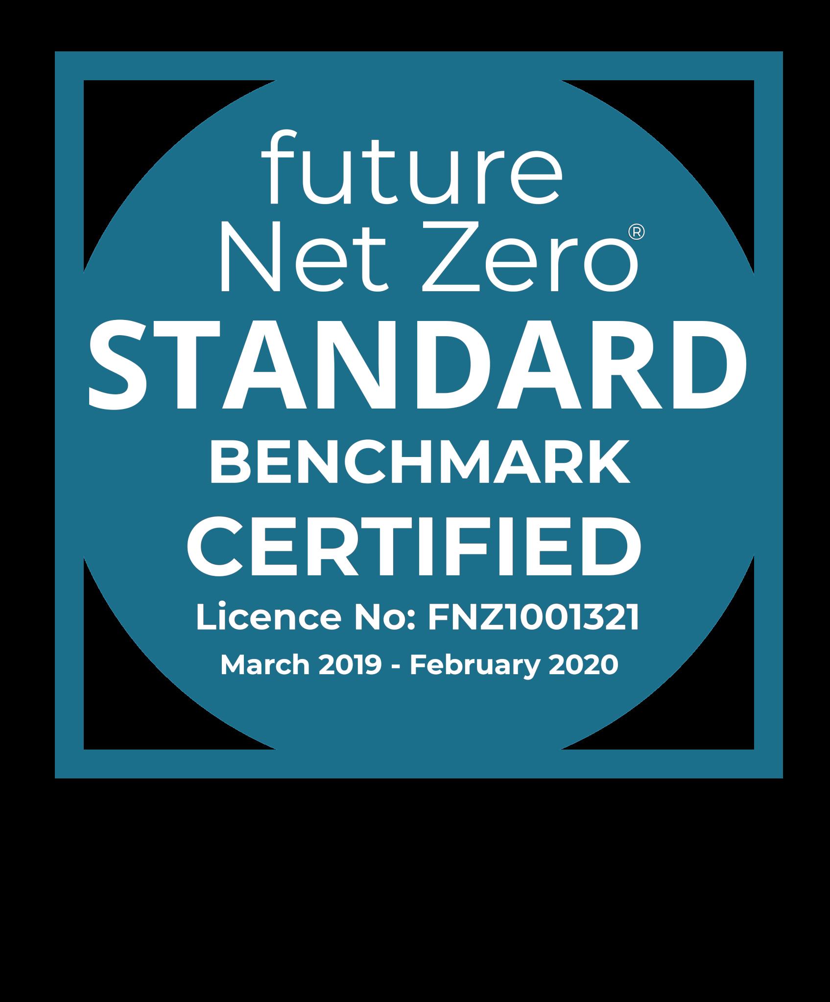 FNZ Standard Badge CERTIFIED BENCHMARK - Scott Richards